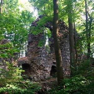 Blansko - Zřícenina hradu Blansek