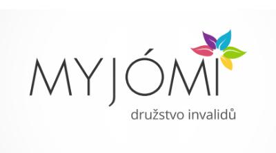 MYJÓMI, družstvo invalidů [logo]