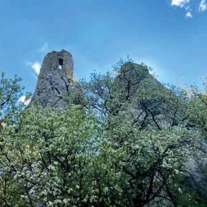 Břeclav - Zřícenina hradu Sirotčí hrádek