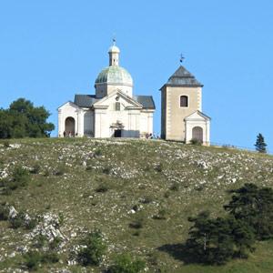 Břeclav - Svatý kopeček v Mikulově