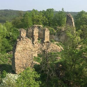 Brno-venkov - Zřícenina hradu Templštejn