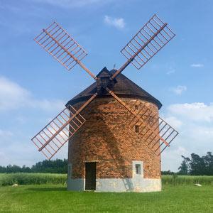 Vyškov - Větrný mlýn Chvalkovice