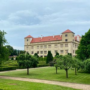 Vyškov - Zámecká zahrada v Bučovicích